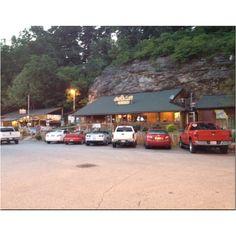 Under cliff restaurant south of Joplin Mo.