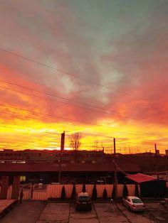 #Oradea #sunrise Romania, Sunrise, Celestial, Outdoor, Outdoors, Outdoor Games, The Great Outdoors, Sunrises