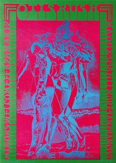 Otis Rush, February 28, 1967 - Matrix Club (San Francisco, CA) Art Victor Moscoso Photo Paul Ubac