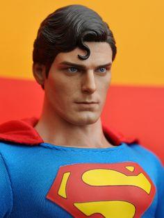 - Superman: Superman Collectible Figure - Page 669 Superman Characters, Superman Movies, My Superman, Dc Movies, Dc Characters, Batman Vs, Christopher Reeve Superman, Action Comics 1, Wow Art