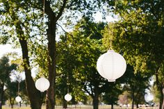 These paper lanterns make wonderful wedding decor hanging from trees, but also can adorn a table top. See ours here: http://www.lightsforalloccasions.com/p-1952-white-wedding-paper-led-shanghai-lantern-2-pack-8-round-battery-op.aspx