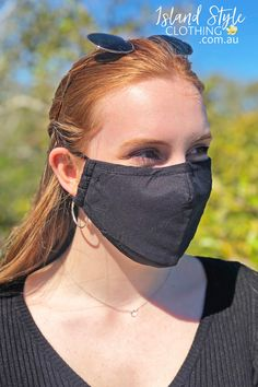 This contoured mask provides nose-to-chin coverage and is washable for reusable convenience. They feature adjustable ear straps, pinch-able nose wire and a filter pocket.⁠ These are non-medical and intended as a face covering in settings when social distancing is difficult to maintain. QLD, Australia #facemask #mask #cottonfacemask #reusablefacemask #adultmask #adultfacemask #reusablefacemasks #cottonmasks #printedmasks #plainfacemasks #blackmask #blackfacemask #plain