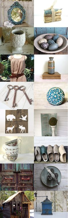 ~Rustic N Shabby~ by Sarah Ann on Etsy--Pinned with TreasuryPin.com