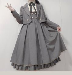 Pretty Outfits, Pretty Dresses, Cool Outfits, Cosplay Dress, Cosplay Outfits, Kawaii Fashion, Lolita Fashion, Old Fashion Dresses, Fashion Outfits
