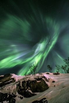 With this picture of the Northern Lights, Norway's Fredrik Broms was a runner-up in the Earth and Space category of the Royal Observatory's annual space photography contest.