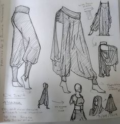 Wow love the trousers Coll character design idea Drawing Reference Poses, Drawing Poses, Drawing Tips, Drawing Ideas, Sketch Poses, Fashion Design Drawings, Fashion Sketches, Drawing Fashion, Clothing Sketches