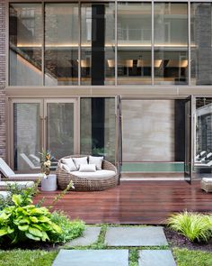 Image 2 of 25 from gallery of Charlie West Apartments / ODA New York + Lemay + Escobar. Photograph by Inessa Binenbaum New York Condos, Architecture Details, Interior Architecture, Bike Storage Room, Bike Room, Brick Facade, Luxury Condo, Common Area, Outdoor Spaces
