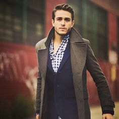 He always has the best fashion (Follow my board mens fashion to see more pins #ClmentDomont) a.downjackettoparea.com   #Canadagoose coats#winter coats#coats#jacket#$189#$249
