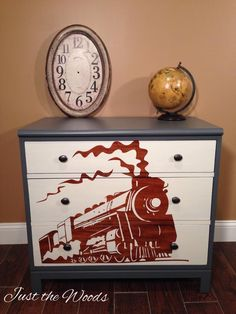 train Loads of painted furniture on this site. Amazing talent