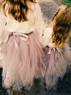 Beautiful tutus from Etsy + cardigans = great flower girl outfits. No need to spend a fortune.
