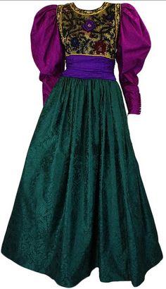 Dress  Oscar de la Renta, 1980s  1stdibs.com