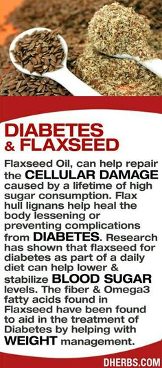 Flax Seed for diabetes  and Cell Repair