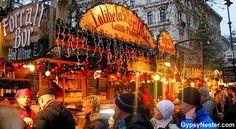 The Christmas Market of Budapest Hungary