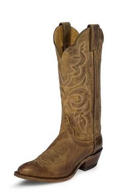 Justin Womens Brown Mocha Leather Western Boots 13in Bent Rail Arizona