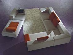 Modular Sofa from Inventa Italy Mille Cento contemporary sofa Picture