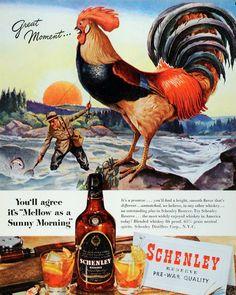 Vintage fishing ad www.lodgemonster.com