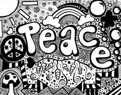 Peace and Love Coloring Pages | PeAcE AnD LoVe..