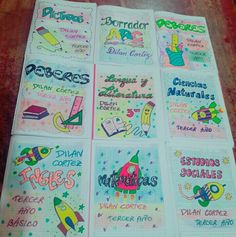 Notebook Covers, My Notebook, Bullet Journal, Kawaii, Stickers, Pretty, Bar, Recipes, Ideas