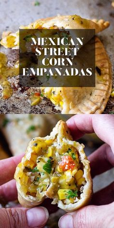 Take Two Tapas - Easy Appetizers, Tapas, Party Foods, & Cocktails appetizers mexican Mexican Street Corn Empanadas - Elotes Hand Pies - Air Fryer Mexican Street Food, Corn Salad Recipes, Street Corn, Tailgate Food, Le Diner, Hand Pies, Vegan, Mexican Food Recipes, Mexican Cooking
