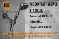 Contrast showers for fighting infections, improving circulation, and waking you up!   (Skeptical of use for fat burn; brown fat kicks into hibernation mode after prolonged cold exposure, say, 12 continuous hours, not a 12 minute shower)