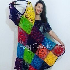 Fabulous Crochet a Little Black Crochet Dress Ideas. Georgeous Crochet a Little Black Crochet Dress Ideas. Crochet Hippie, T-shirt Au Crochet, Cardigan Au Crochet, Beau Crochet, Mode Crochet, Freeform Crochet, Crochet Cardigan, Crochet Stitches, Crochet Dresses