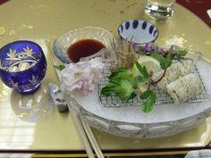 Kaiseki dinner at a Ryokan in Nara - 2008