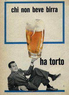 MONDO BIRRA - Pubblicità della birra - I Manifesti pubblicitari
