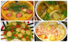 Hovorí sa, že dobrá polievka je základ. Ak vám už dochádzajú nápady, ako fantastickú polievočku pripraviť, ponúkame vám inšpiráciu. Thai Red Curry, Soup, Treats, Chicken, Ethnic Recipes, Invite, Sweet Like Candy, Goodies, Soups