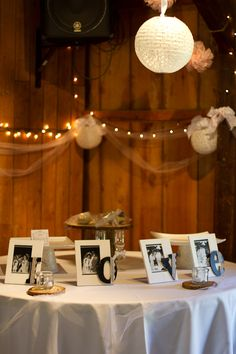 love the idea of having pictures from both of our parent's wedding too