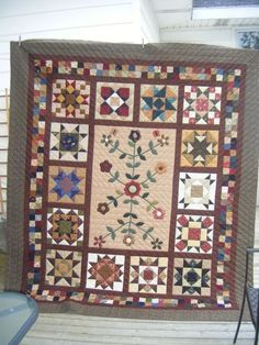 Stars in the Garden quilt pattern by Kim Diehl maybe for sat sampler next year?
