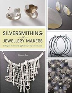 Booktopia has Silversmithing for Jewellery Makers, Techniques, Treatments & Applications for Inspirational Design by Elizabeth Bone. Buy a discounted Paperback of Silversmithing for Jewellery Makers online from Australia's leading online bookstore. Just Love, London Jewellery School, Silver Charms, Silver Jewelry, Silver Ornaments, Stylish Jewelry, Metal Clay, Metallica, Arts And Crafts
