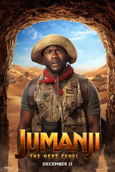 Jumanji: The Next Level - Kevin Hart as Mouse Finbar Buy Movies, Movies 2019, Movies To Watch, Good Movies, 2015 Movies, Popular Movies, Danny Glover, Danny Devito, Kevin Hart