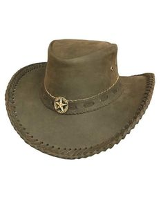 Hawkins  Black Cotton Western wide brim  Cowboy Hat 3 sizes FREE  fast post