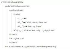 I love these tumblr posts lol