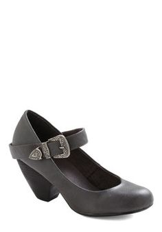 Student of Chic Heel in Grey, #ModCloth