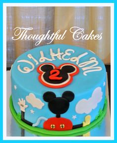 Mickey Mouse Clubhouse Cake on Cake Central