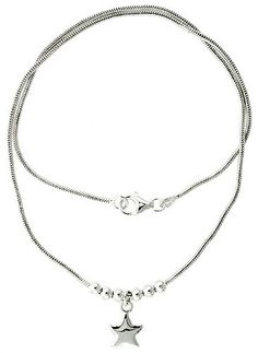 Sterling Silver Necklace with Star Pendant 17 * Want to know more, click on the image. (This is an affiliate link) #JewelrySets