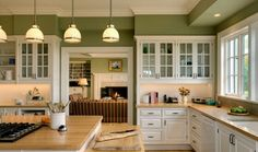 Kitchen color idea / Houzz.com