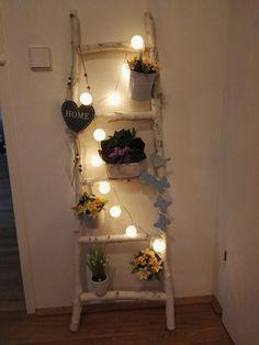 bauanleitung f r eine deko leiter heimwerken basteln und diy pinterest. Black Bedroom Furniture Sets. Home Design Ideas