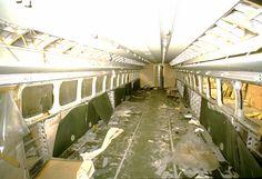 Cabine passagers de l'#Aérotrain