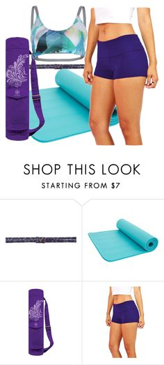 """""""Yoga #33"""" by nomi33 ❤ liked on Polyvore featuring prAna, Gaiam and Onzie"""