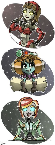 The Ladies of Ratchet and Clank 2 by CPTBee
