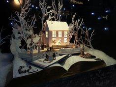 Christmas Window Display Ideas | Christmas window display in Arnotts