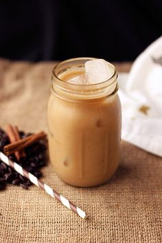 Iced Dirty Chai Almond Milk Latte {Gluten-free and Vegan} // Tasty Yummies