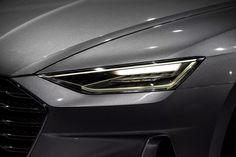 Audi Prologue Concept Headlights