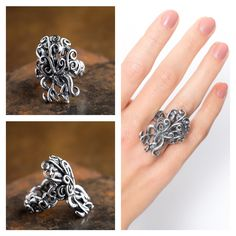 Tree of Life handmade ring