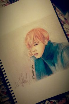 My drawing of G dragon from Bigbang. Done by: @Spooky Life