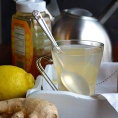 Ginger Lemon Tea - Taste Love and Nourish