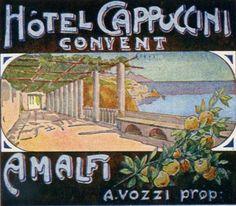Hotel Cappuccini, Amalfi