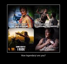 How legendary is Daryl Dixon?